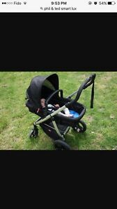 PHIL & TED LUXURY STROLLER LIKE NEW