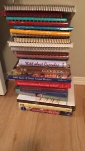 20+ cookbooks!