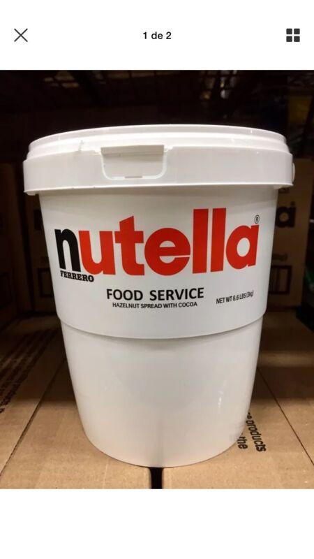 Nutella 3 kg (6.6 lb) Bucket Hazelnut Spread