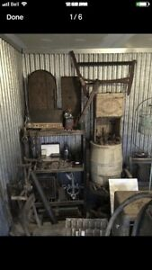 Antiques, signs and collectibles