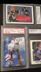 Hockey Cards Graded/Autographed/Limited/Signed