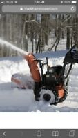 Snow blowing/ shoveling