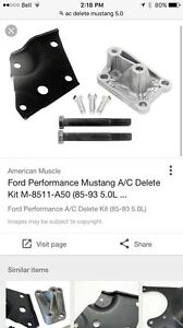 Mustang a/c delete