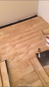 Hardwood, laminated, engineers, vinyl flooring installing  Strathcona County Edmonton Area image 4