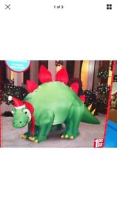 Wanted- inflatable green dinosaur christmas