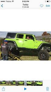 Jeep Wrangler unlimited jk heaps of extras East Branxton Cessnock Area Preview