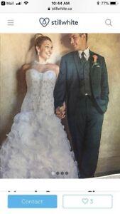 Maggie Soretto size 8-10 wedding dress