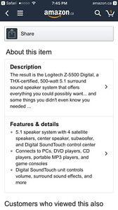 Computer speakers Kitchener / Waterloo Kitchener Area image 3