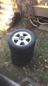 brand new 20 inch winter tires on chev rims