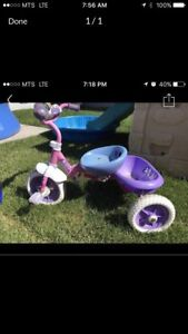 Girls princess Tricycle