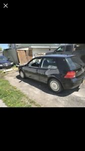 2003 vw golf 2 door