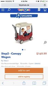 Step 2 wagon with removable top