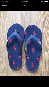 Ralph Lauren Polo  Flip Flops! Size 7. Barely use!