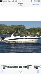 Bateau searay sundencer 420
