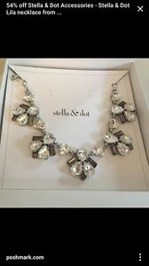 Stella and dot Lila necklace retired