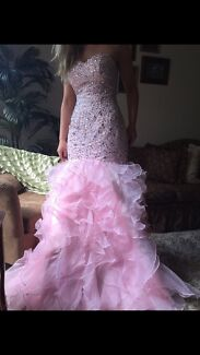 Wedding dress, Deb dress and other items