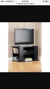 Black tv stand for 32""