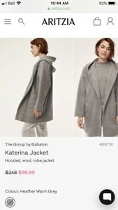 New With Tags - Aritzia - Babaton -Katerina Jacket -Size XXS