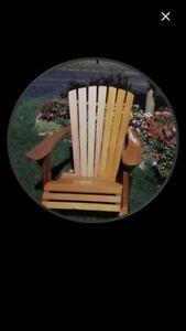 Adirondack Cedar Chairs - End Of season Sale Blowout