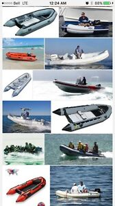 Looking for a 10-12' inflatable Zodiac keel or parts boat