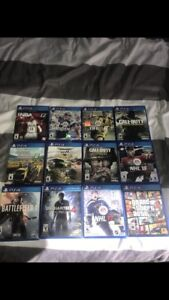 PS4 games and turtle beach headset for sale!