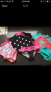 Girls bathing suits 18months - 2T