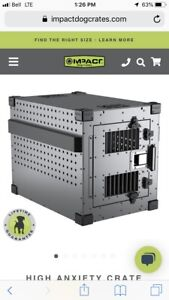 High Anxiety Dog Crate