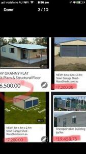 "DIY Granny Flat ""FlatPack"" Plans & Flooring"