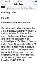 Off road camping trailer Brewarrina Brewarrina Area Preview