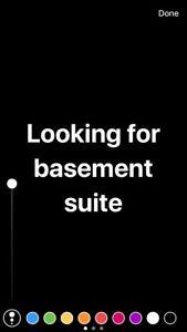 ISO: Basement Suite