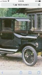 Looking for model t parts