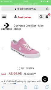 ONE STAR CONVERSE  8dd3ea589