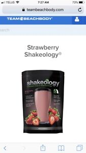 Strawberry Shakeology For Sale