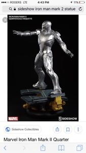 Iron Man mark 2 sideshow collectibles statue