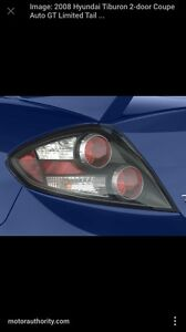Hyundai tiburon tail lights wanted!!!