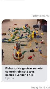 Fisher Price Geotrax