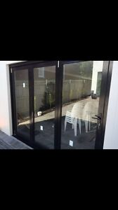 BI FOLD ALUMINIUM DOORS AND WINDOWS Milperra Bankstown Area Preview