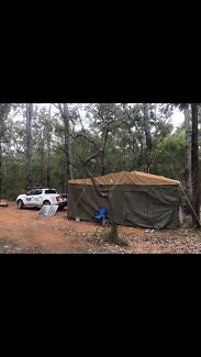 Mdc 2018 voyage hard rear fold camper trailer Madeley Wanneroo Area Preview