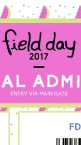 FIELD DAY TICKET Terrigal Gosford Area Preview