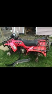 C&C cycles parting out 2002 Honda foreman 450 Es runs