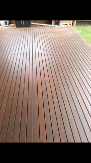 Hardwood Decking - Used