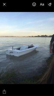 Clinker Ski Boat