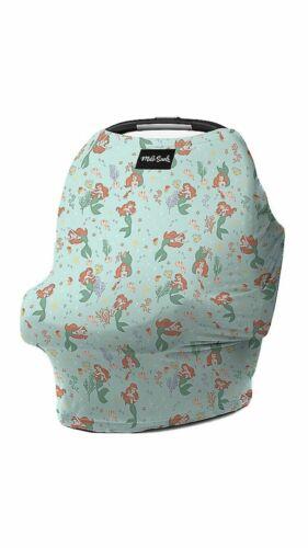 MILK SNOB Disney Baby CAR SEAT COVER NURSING Ariel Little Mermaid Princess NWT