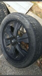 305/35/24 Great tires m+s