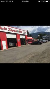 Turnkey automotive repair business, land and building for sale