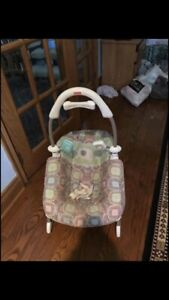 Baby swing with detachable rocking chair