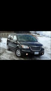 2008 Chrysler Town & Country limited. Snow tires/ safety
