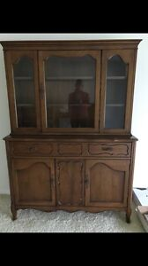 Table, Chairs, Hutch & Side Table