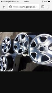 "15"" 5x114.3 Honda factory rims great condition"