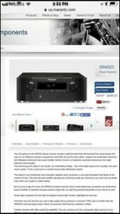 Surround Sound System with Marantz Amp